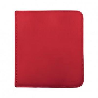 Ultra Pro 12-Pocket Zip Binder Red