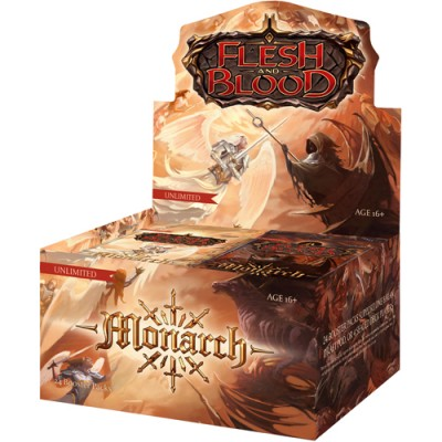 Flesh & Blood Monarch Unlimited Boosterbox