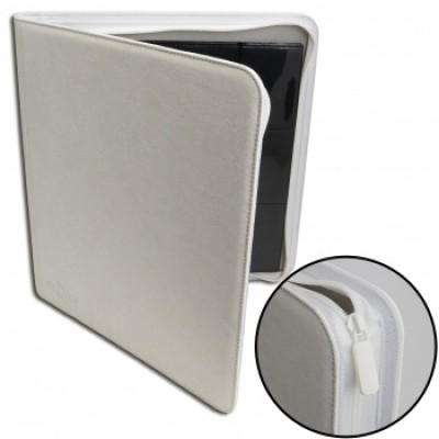 12-Pocket Premium Zip Album White