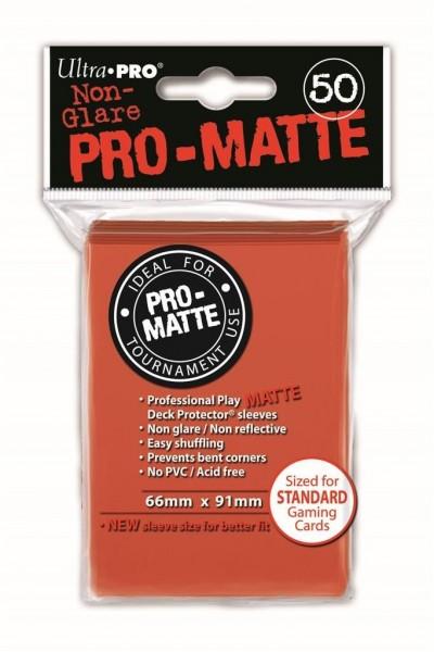 Ultra Pro Sleeves Matte Peach (50st)