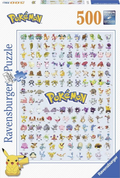 Ravensburger - Pokémon 500pc