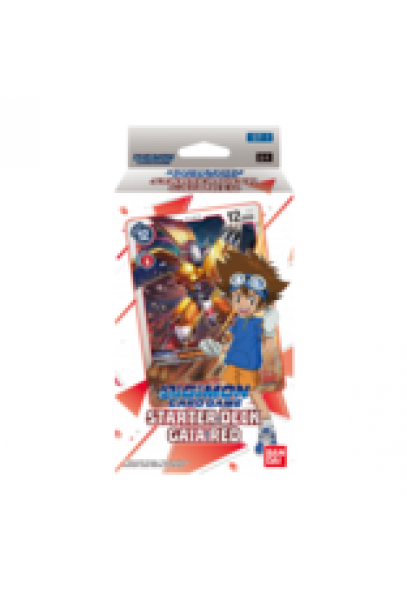 Digimon Starter Deck Gaia Red