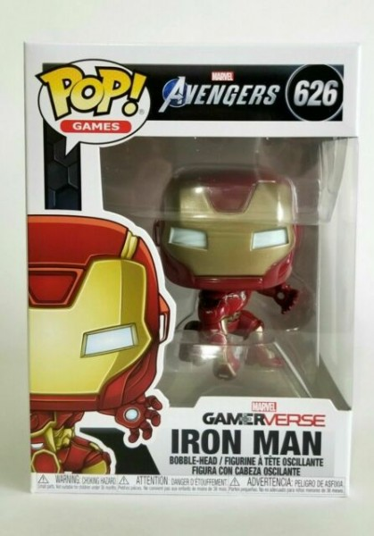 Funko Pop 626 Avengers Game - Iron Man (Stark Tech Suit)