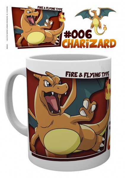 GBeye Mug - Pokemon Charizard Fire