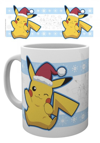 GBeye Mug - Pokemon Pikachu Santa Christmas Mug
