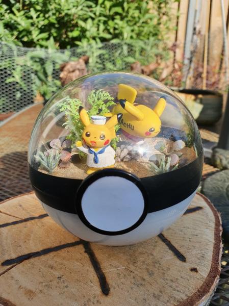Pokemon Terra 10 cm - Pikachu 3