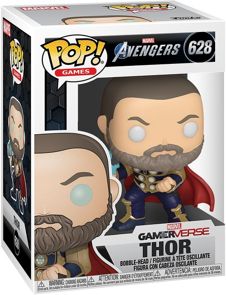Funko Pop 628 Avengers Game -Thor (Stark Tech Suit)