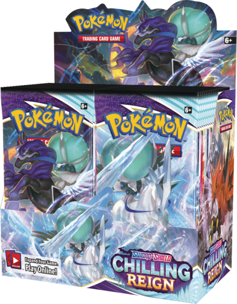 Sword & Shield Chilling Reign Boosterbox Case (6)