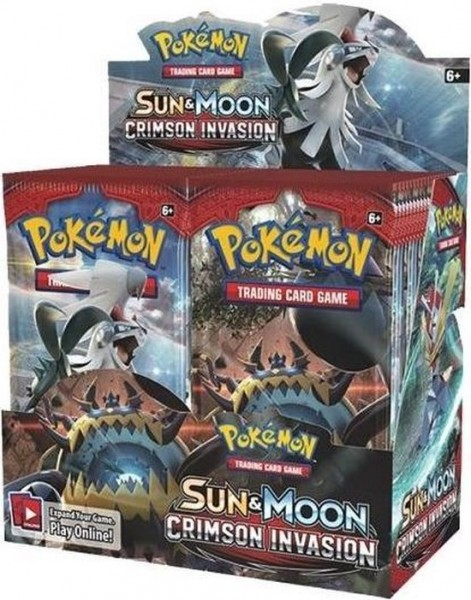 Sun & Moon Crimson Invasion Boosterbox