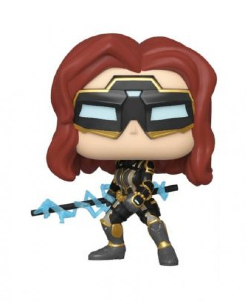 Funko Pop 630 Avengers Game -Black Widow (Stark Tech Suit) w/ Glow Chase