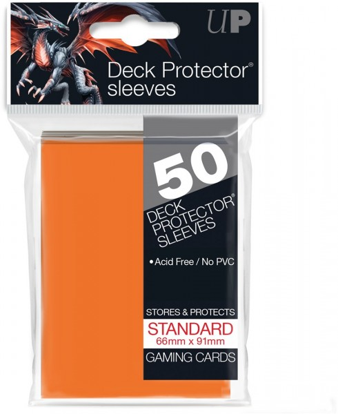 Ultra Pro Sleeves Matte Orange (50st)