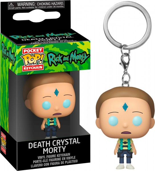 Funko POP! Keychain Rick & Morty - Armed Morty