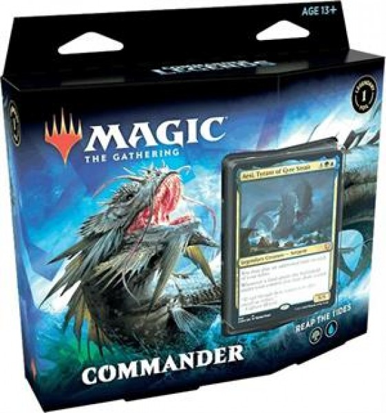 Commander Legends Deck Reap The Tides