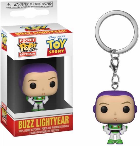 Funko POP Keychain: Toy Story - Buzz Vinyl Figure