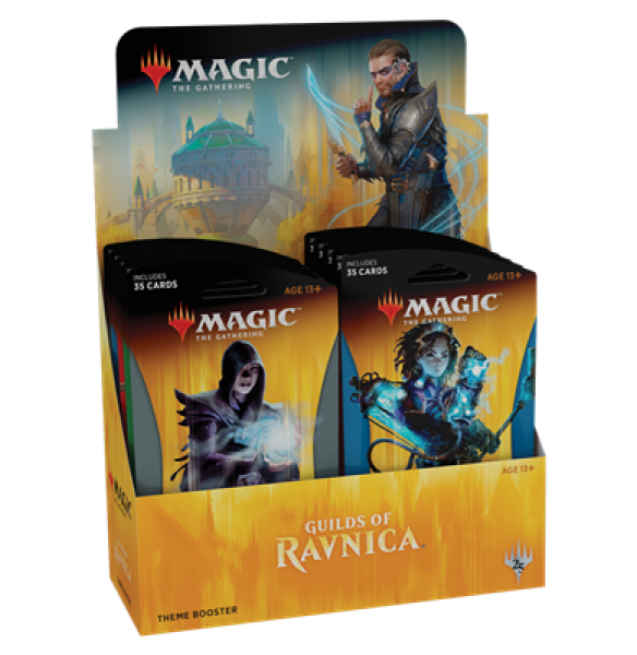 Magic The Gathering - Guilds Of Ravnica Theme Booster Display