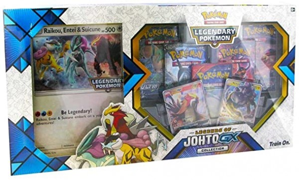 Legends of Johto GX Collection Box