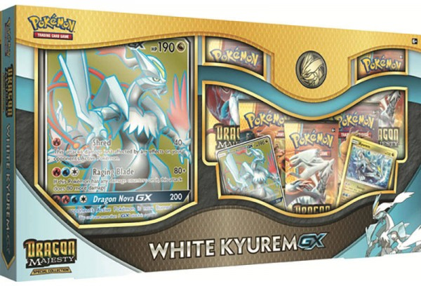 Dragon Majesty White Kyurem Gx Box