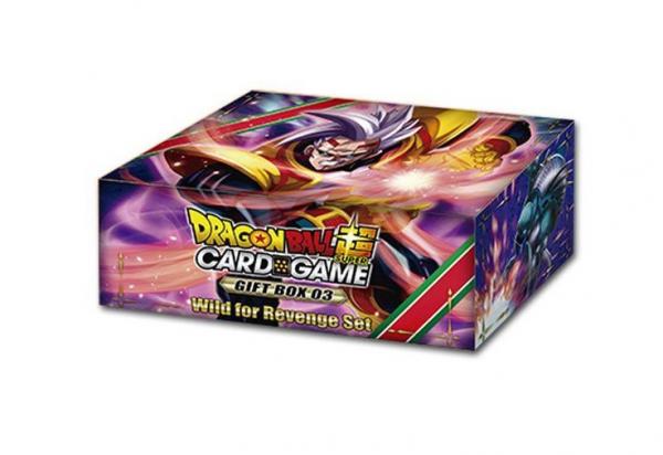 DragonBall Super Card Game - Gift Box 3 Wild for Revenge