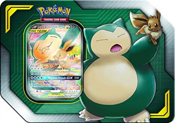Tag Team Tin - Eevee & Snorlax