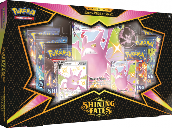 Shining Fates Shiny Crobat VMAX Box