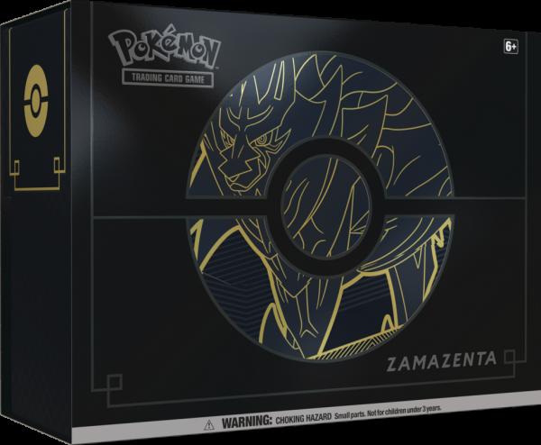 Sword & Shield Elite Trainer Box PLUS - Zamazenta