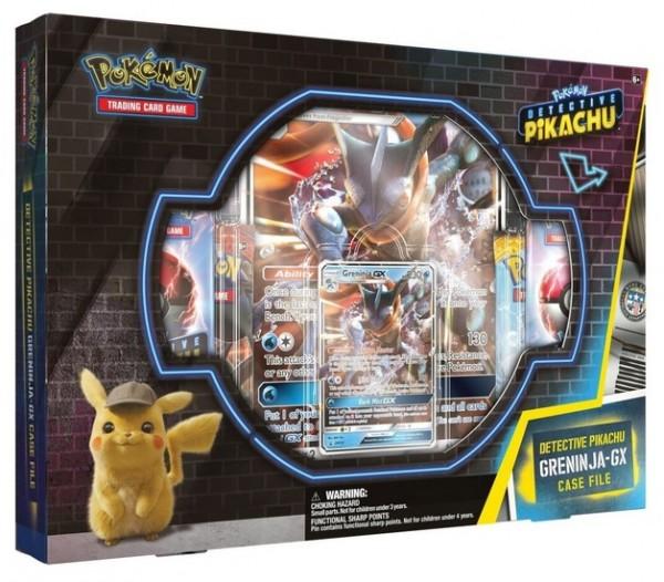 Detective Pikachu GX Pin Box Greninja