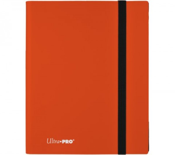 Ultra Pro Binder 9-Pocket Pumpkin Orange