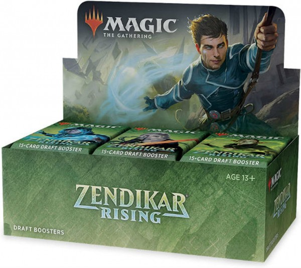 Zendikar Rising Draft Boosterbox