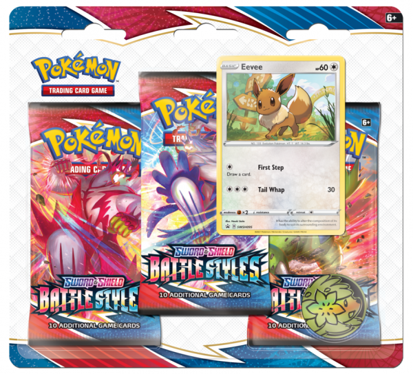 SWSH Battle Styles 3 - Pack Blister - Eevee