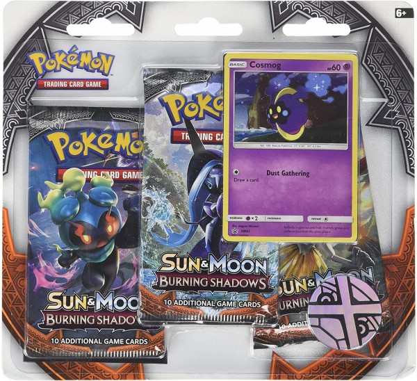 Sun & Moon Burning Shadows 3-pack blister Cosmog