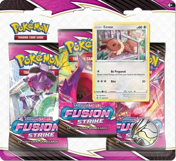 Fusion Strike 3-pack Blister Eevee