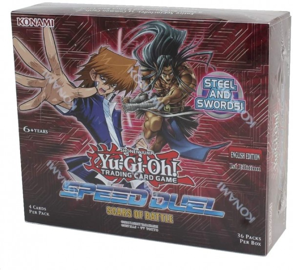 Yu-Gi-Oh Speed Duel Scars of Battle - Booster Display