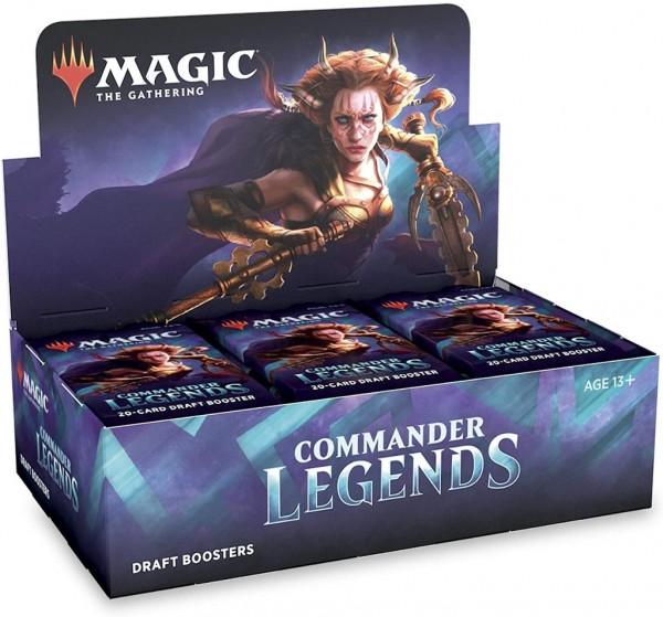 Commander Legends Draft Booster Display