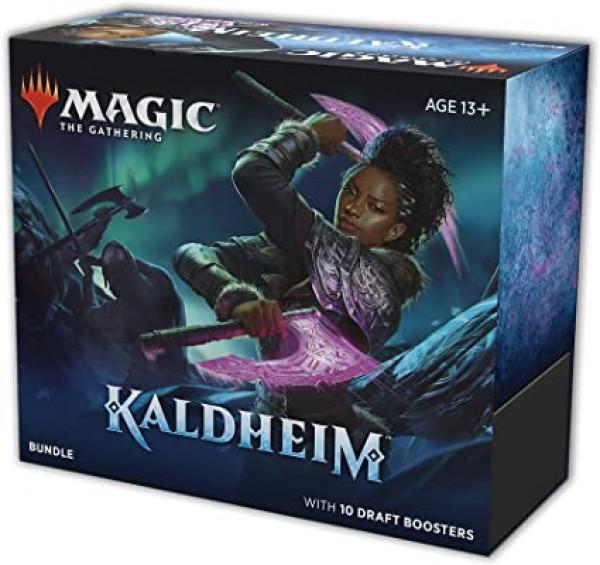 Kaldheim Theme Booster Display