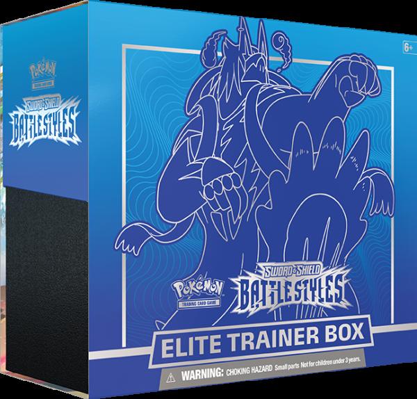 SWSH Battle Styles Elite Trainer Box - blauw