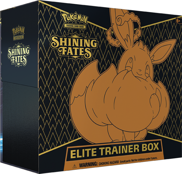 Shining Fates Elite Trainer Box CASE