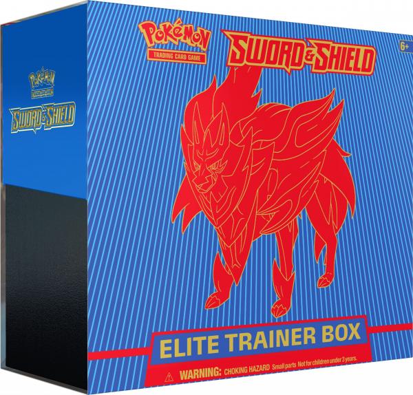 Sword & Shield Elite Trainer Box - Zamazanta