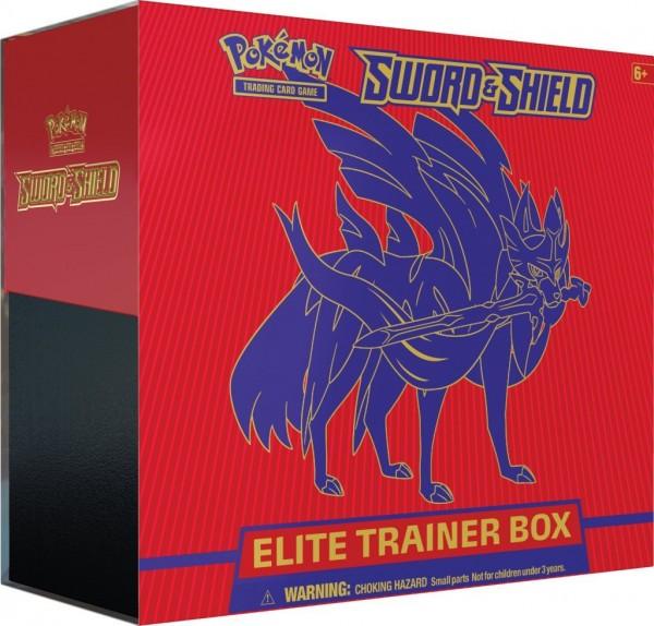 Sword & Shield Elite Trainer Box - Zacian