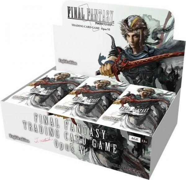 Final Fantasy Opus VI ENG Boosterbox (36 Packs)