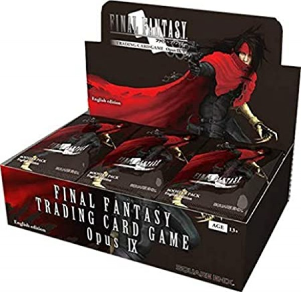 Final Fantasy Opus IX ENG Boosterbox (36 Packs)