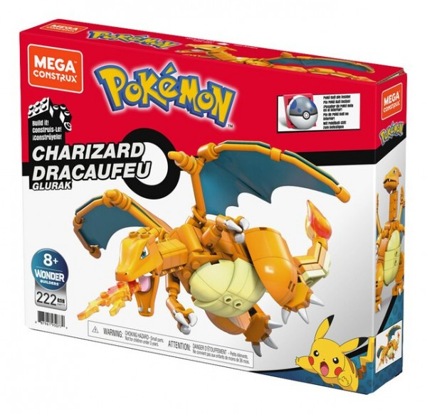 Mattel Mega Construx Pokémon Charizard