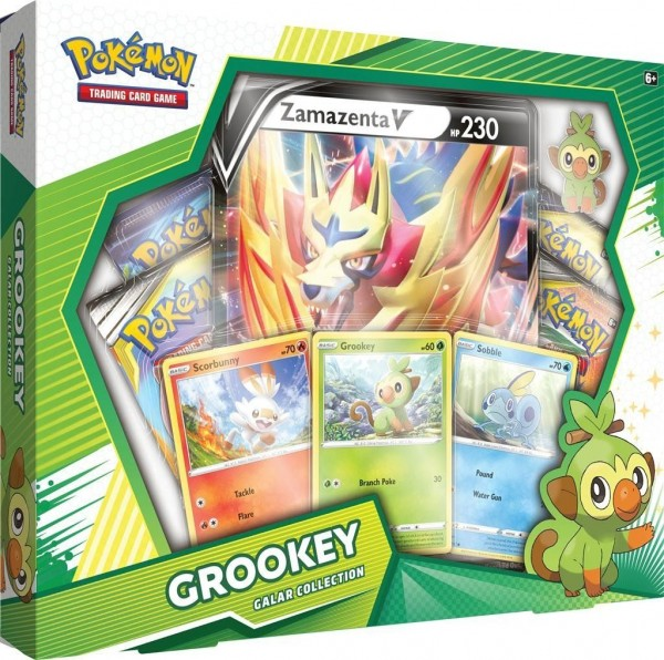Galar Collection Box - Grookey / Zamazenta V