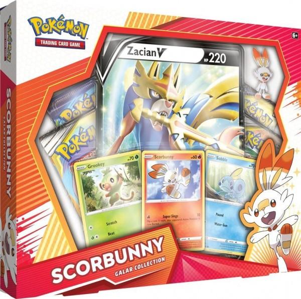 Galar Collection Box - Scorbunny / Zacian V