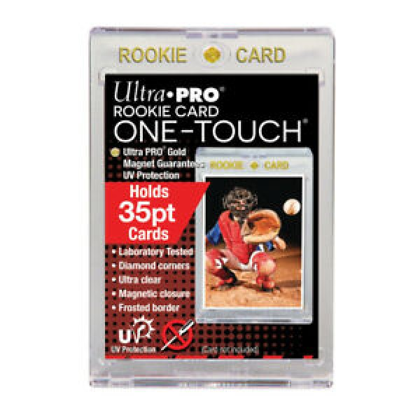 Ultra Pro Rookie Black Border UV Magnetic Holder