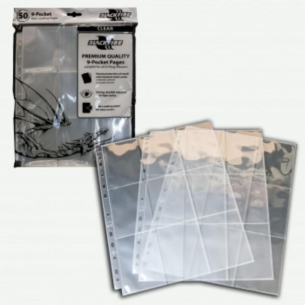 9-Pocket Pages Side Loading - 50 stuks