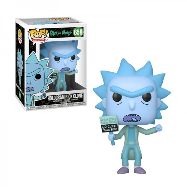 Funko POP! Rick & Morty - Hologram Rick Clone