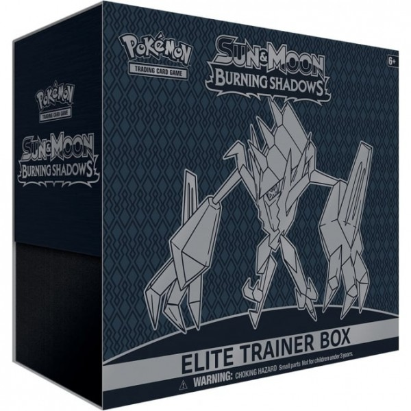 Sun & Moon Burning Shadows Elite Trainer Box