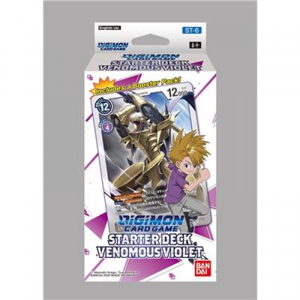 Digimon Starter Deck Venomous Violet