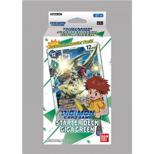 Digimon Starter Deck Giga Green
