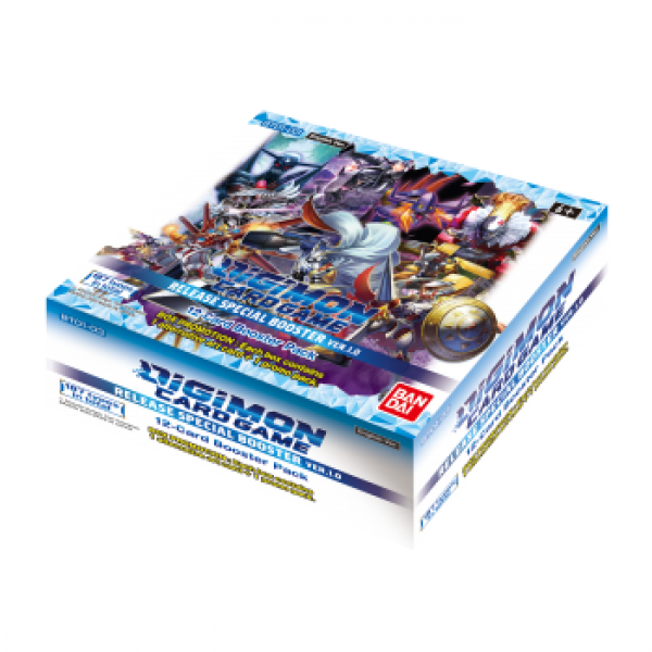 Digimon Release Special Boosterbox 1.0 (24 packs)